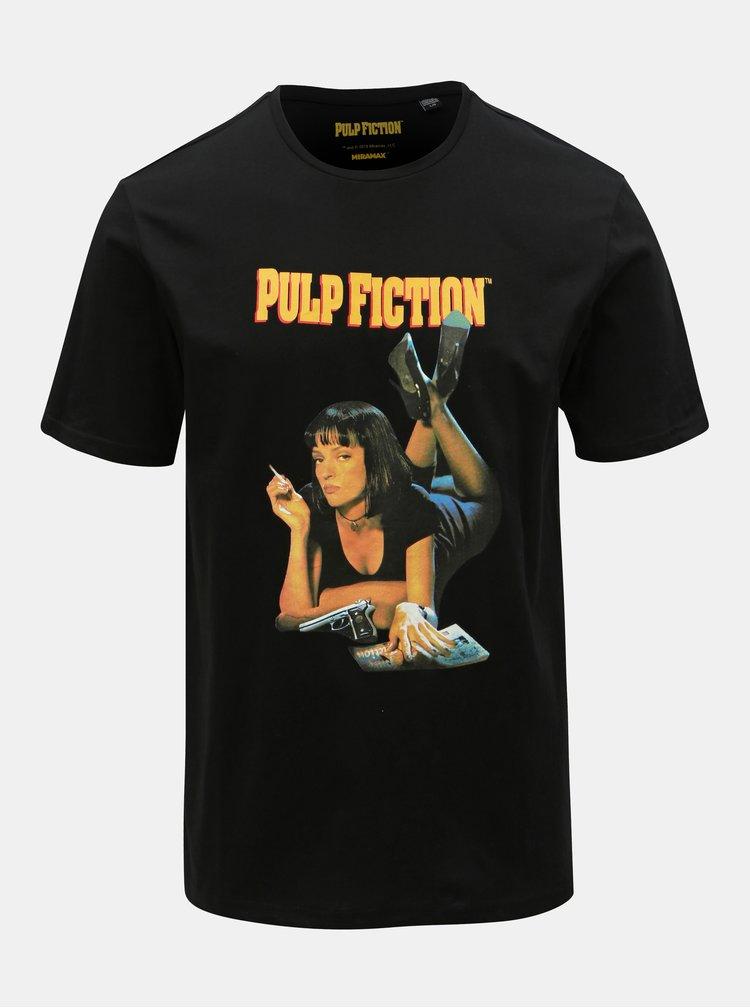 Tricou negru cu imprimeu ONLY & SONS Pulp Fiction