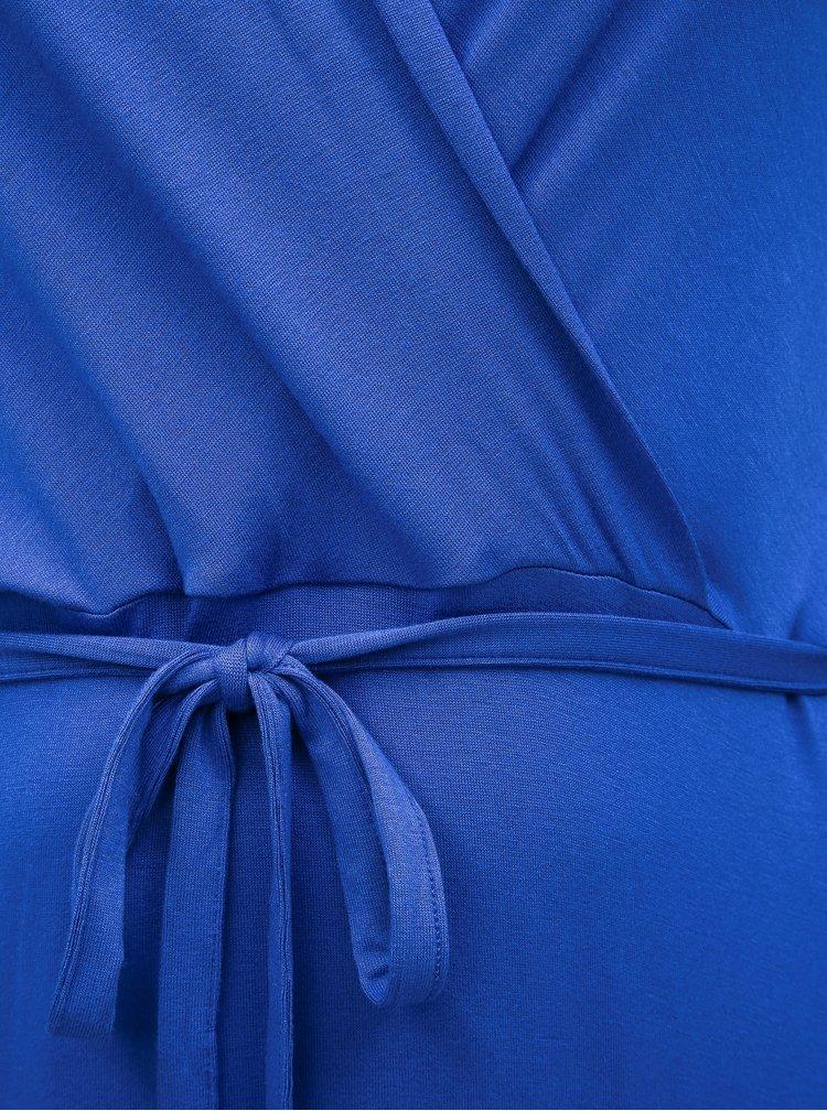 Modré basic maxišaty Dorothy Perkins Curve
