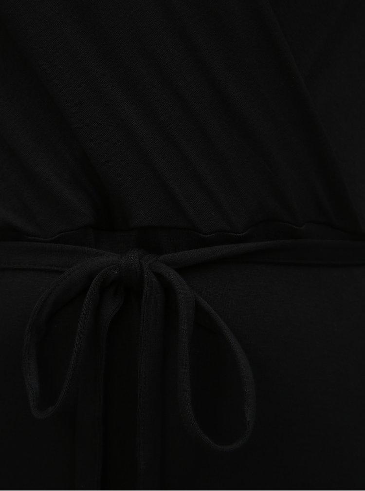 Černé basic maxišaty Dorothy Perkins Curve