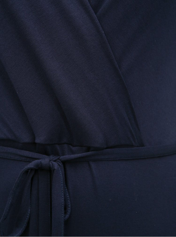 Tmavě modré basic maxišaty Dorothy Perkins Curve