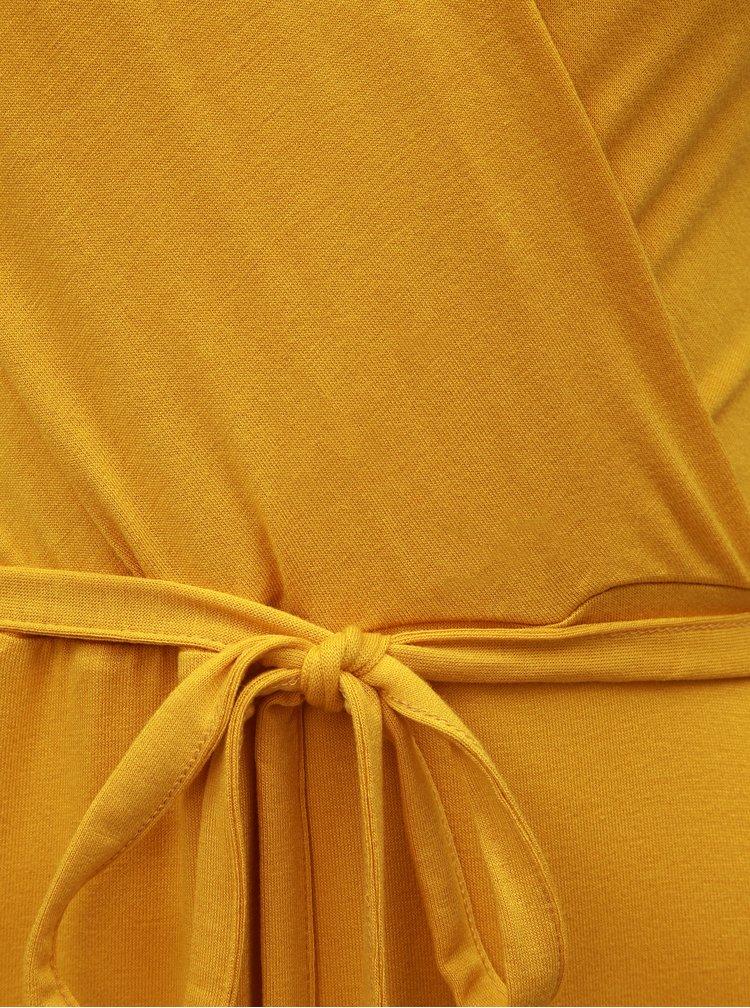 Žluté maxišaty Dorothy Perkins Petite