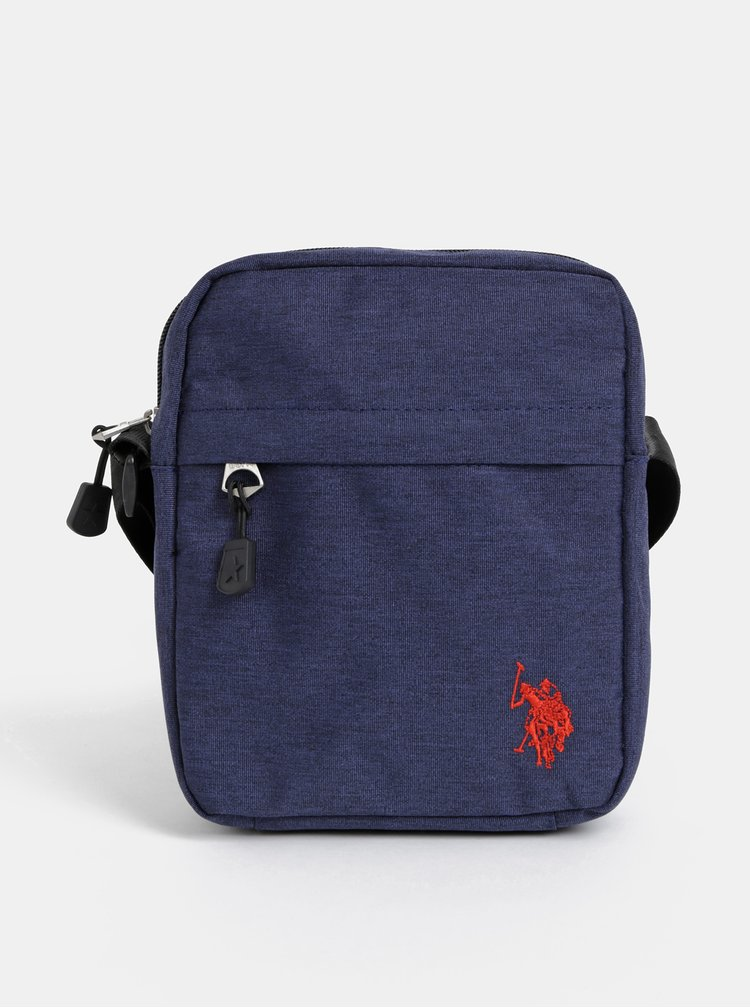 Tmavě modrá pánská crossbody taška U.S. Polo Assn.