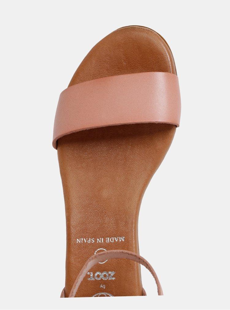 Staroružové kožené sandále OJJU