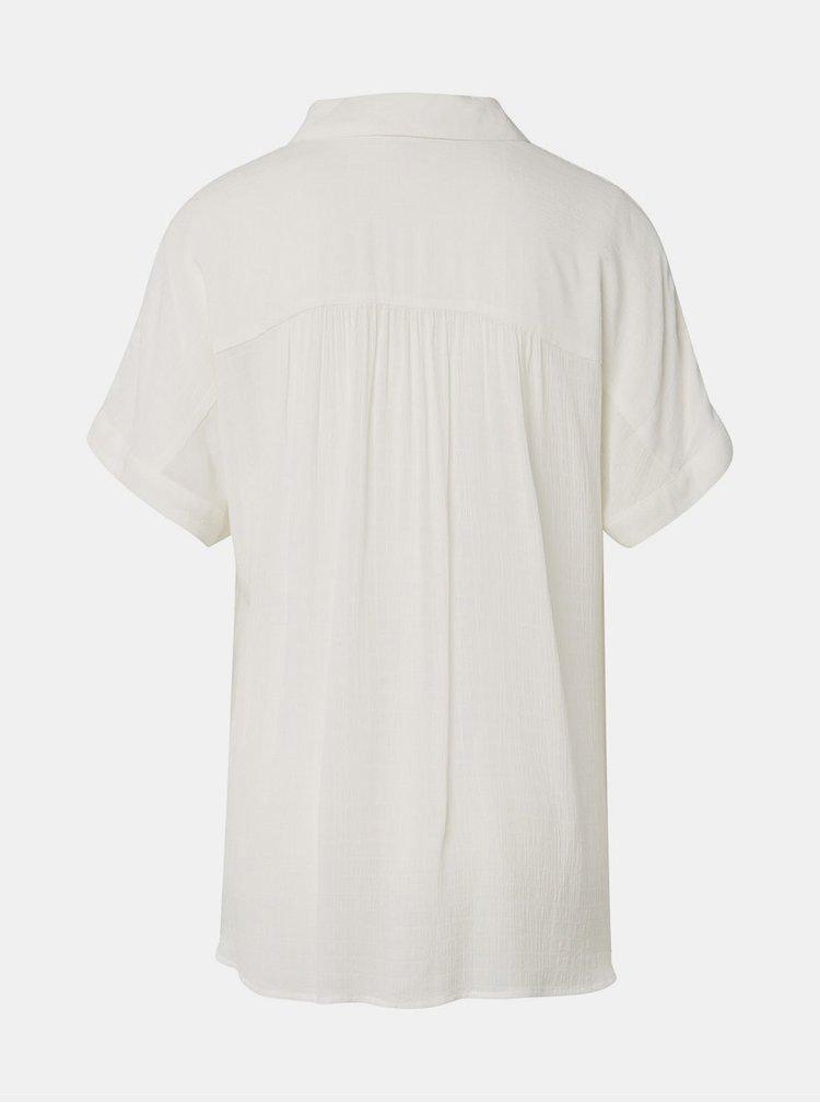 Bluza alba Tom Tailor Denim
