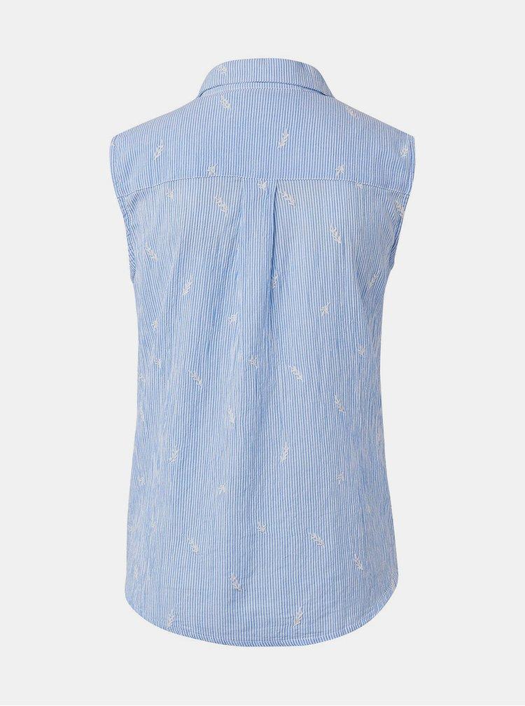 Bielo–modrá pruhovaná blúzka Tom Tailor