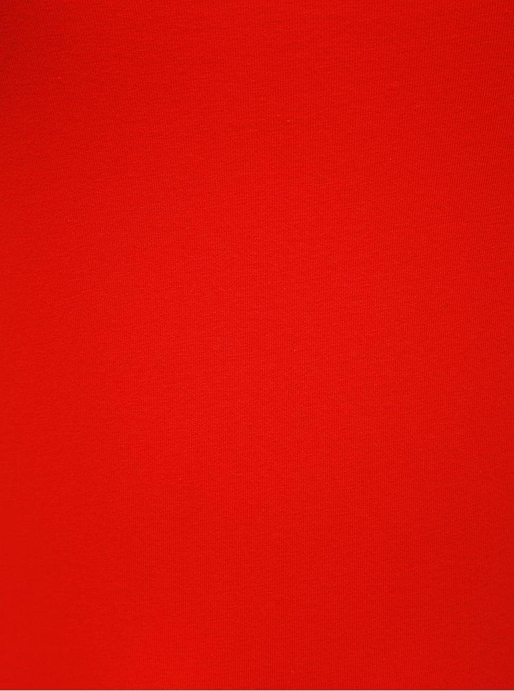 Červené basic tílko ONLY CARMAKOMA Time