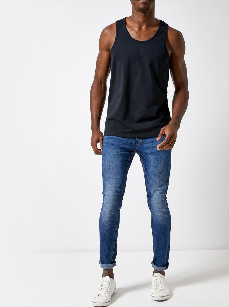 Maiou basic negru regular fit Burton Menswear London