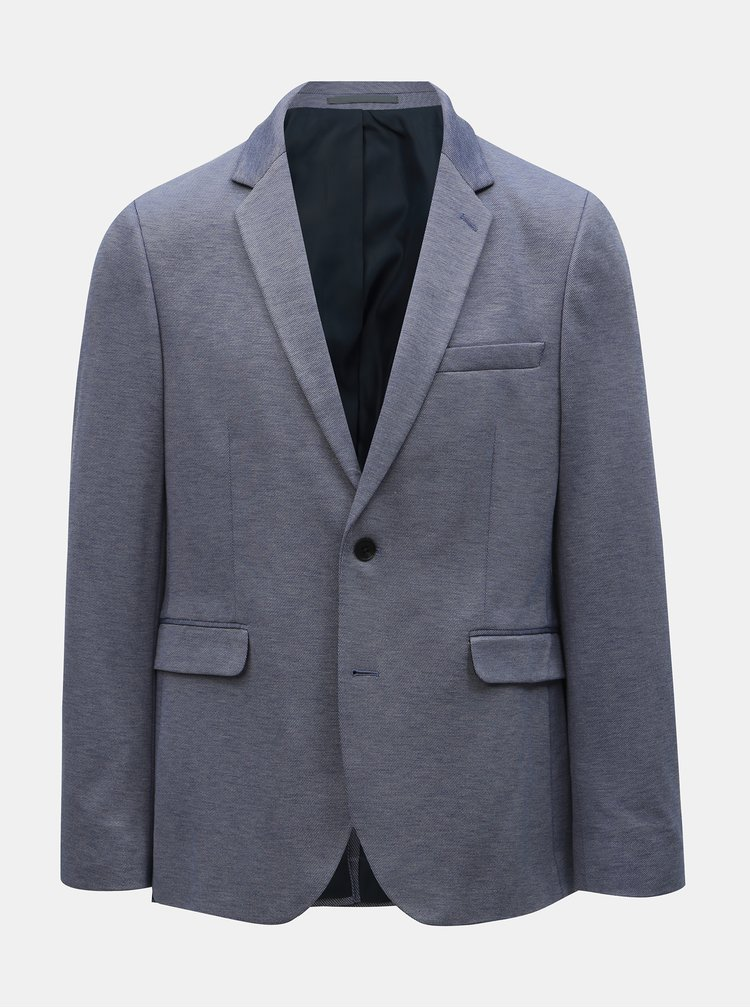 Sacou albastru Burton Menswear London