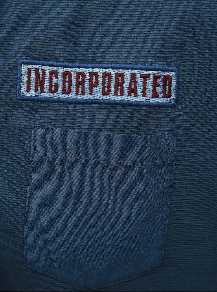 Modré pánské tričko Tom Tailor