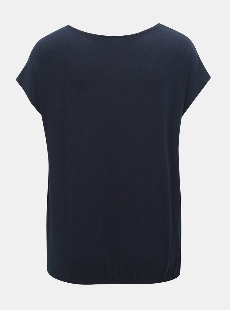 Bluza albastru inchis Tom Tailor