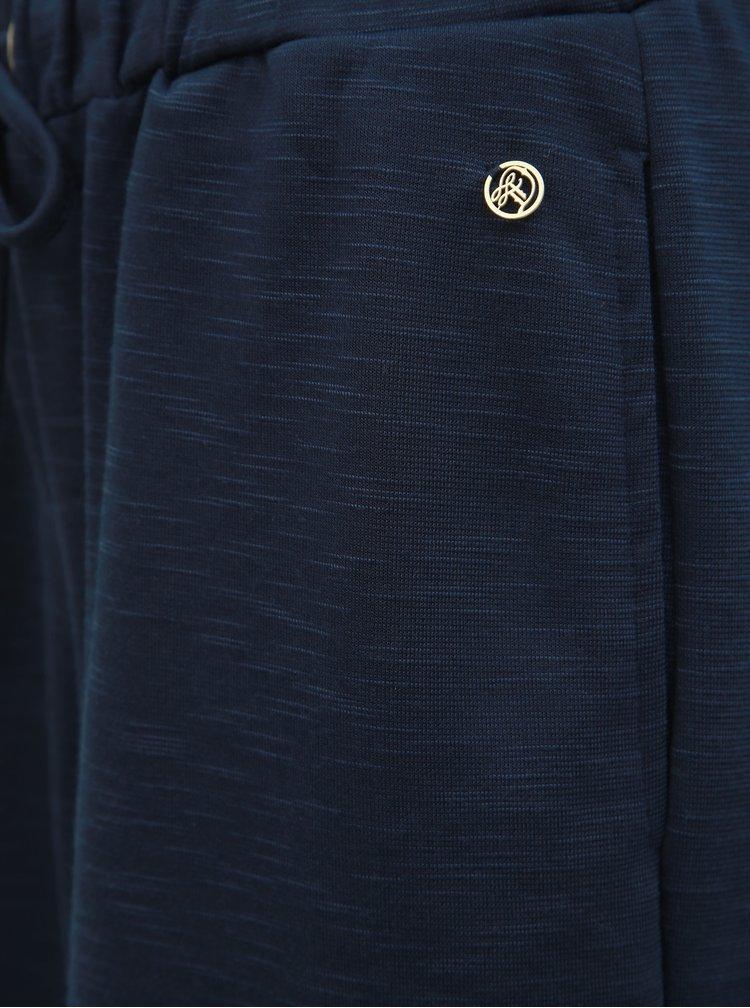 Tmavě modré culottes s vysokým pasem Tom Tailor Denim