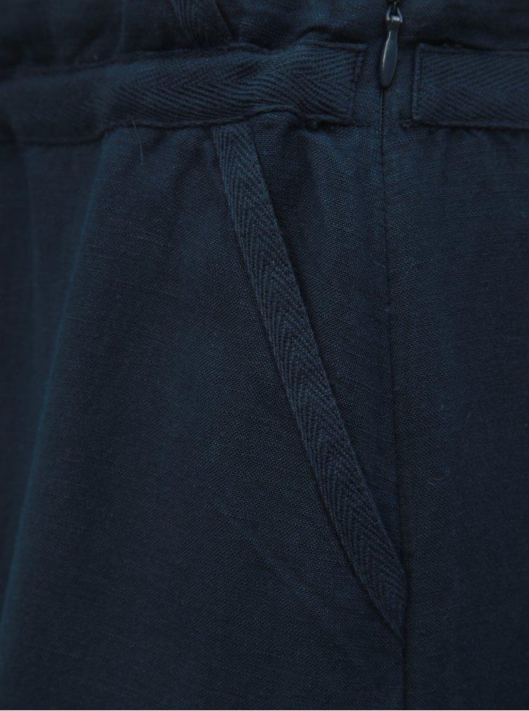 Fusta albastru inchis din in Tom Tailor