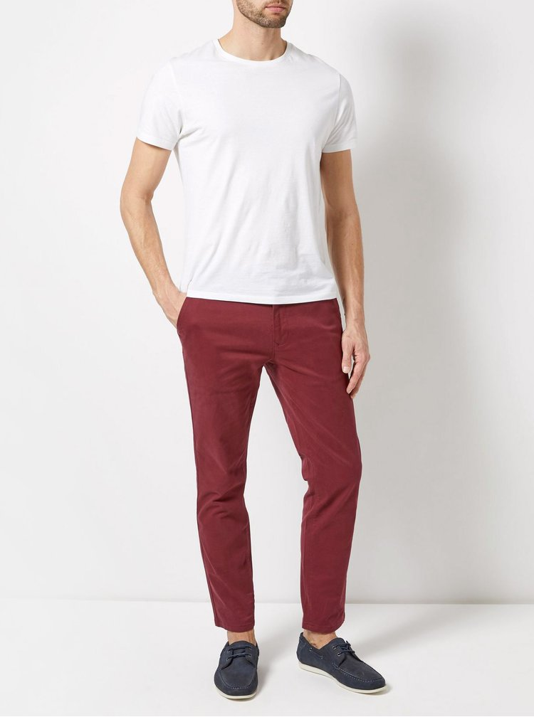 Pantaloni bordo skinny fit chino Burton Menswear London