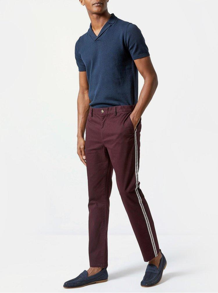 Pantaloni bordo slim fit Burton Menswear London