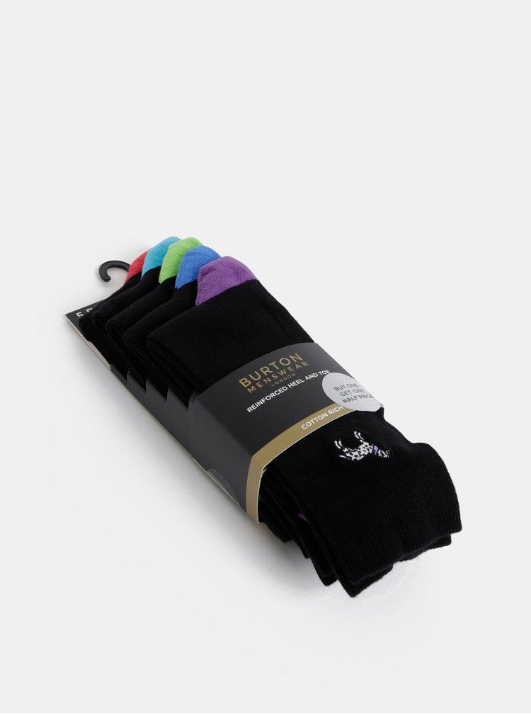Černé ponožky Burton Menswear London