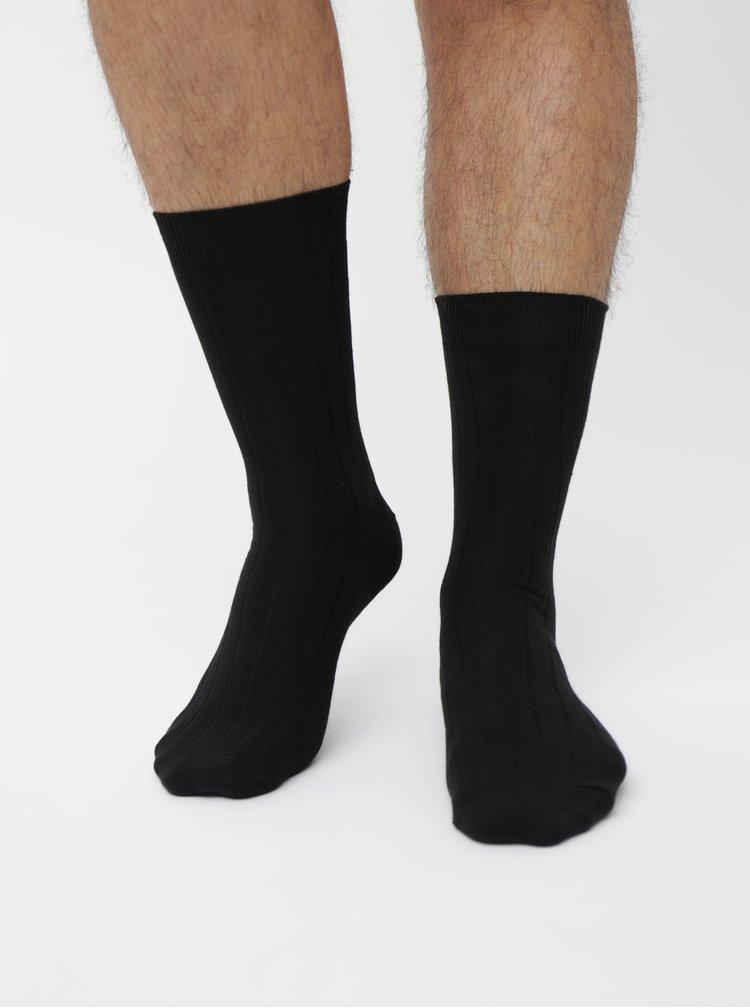 Čierne ponožky Burton Menswear London