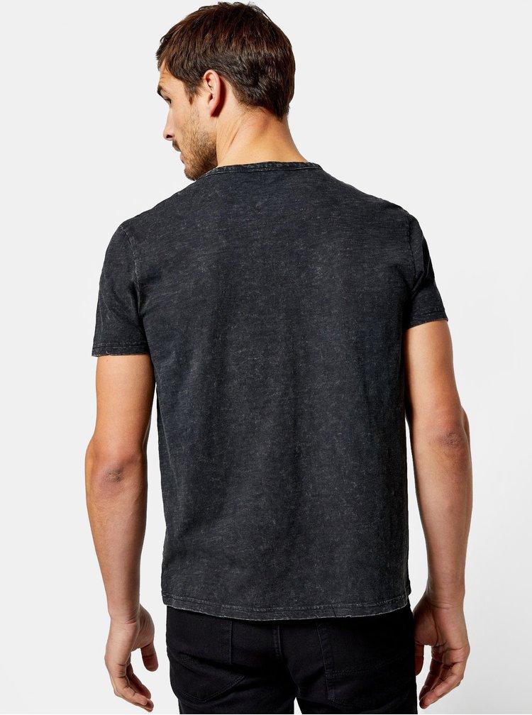 Tmavě šedé tričko Burton Menswear London