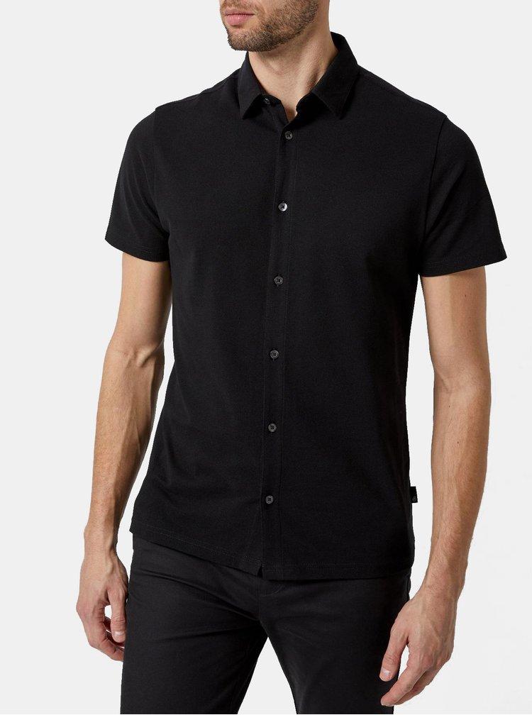 Camasa neagra Burton Menswear London