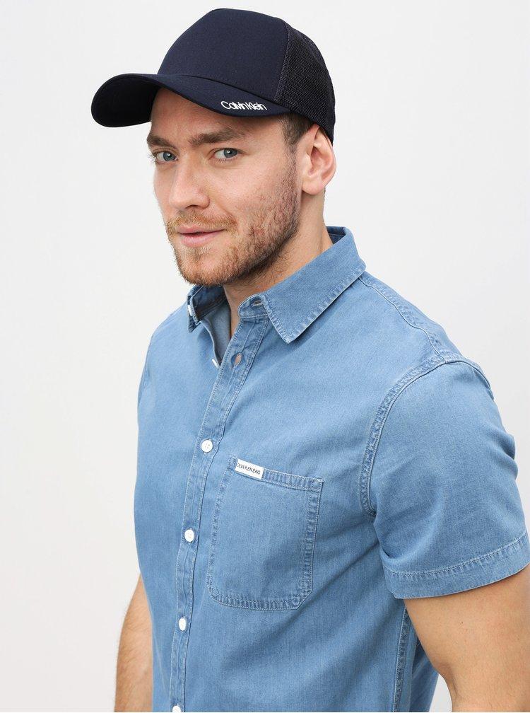 Tmavě modrá kšiltovka Calvin Klein Jeans