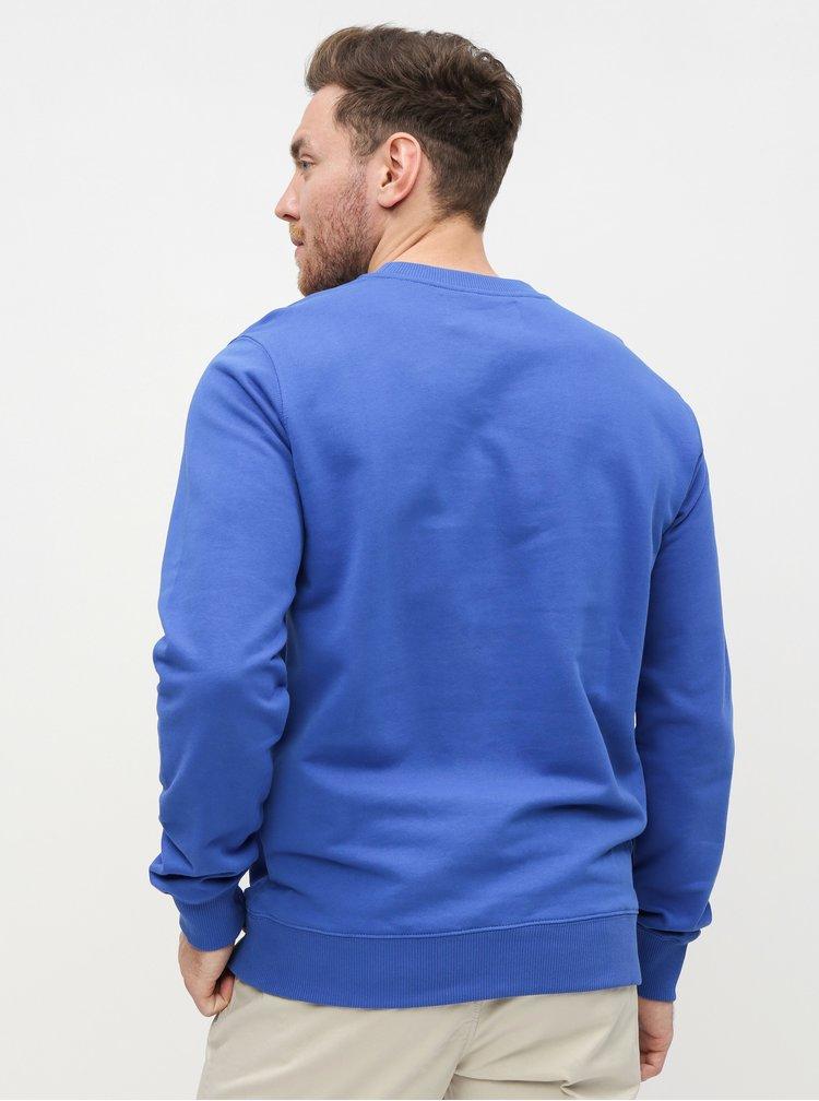 Modrá pánská mikina Calvin Klein Jeans