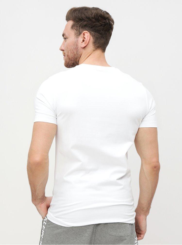 Bílé pánské tričko Calvin Klein Jeans