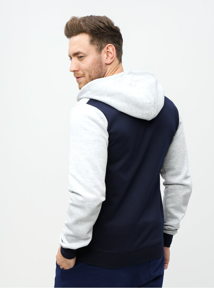 Hanorac albastru-gri Jack & Jones Web