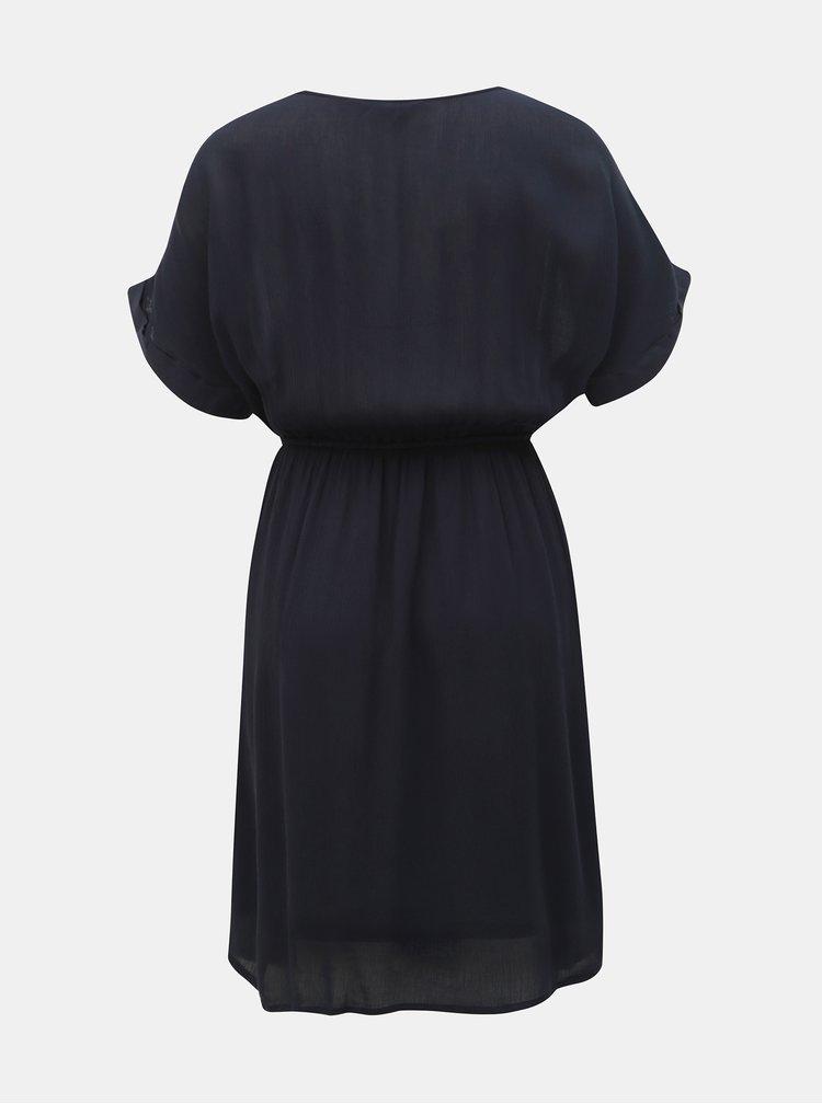 Tmavomodré šaty VERO MODA Monica