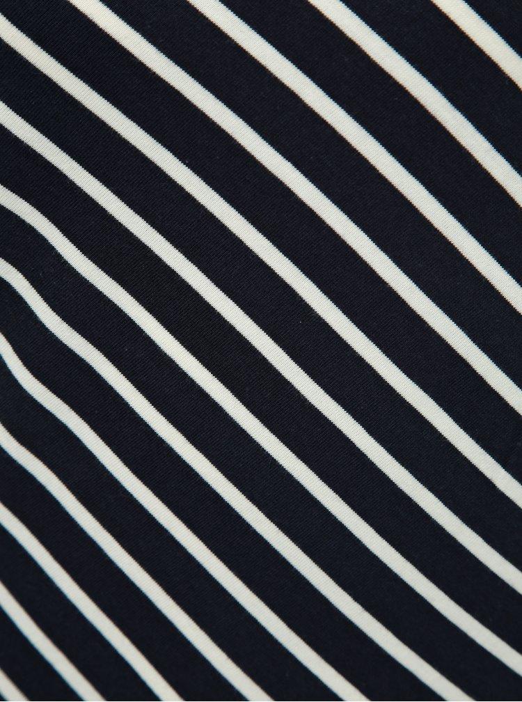 Bílo-modré pruhované tričko ONLY Maya