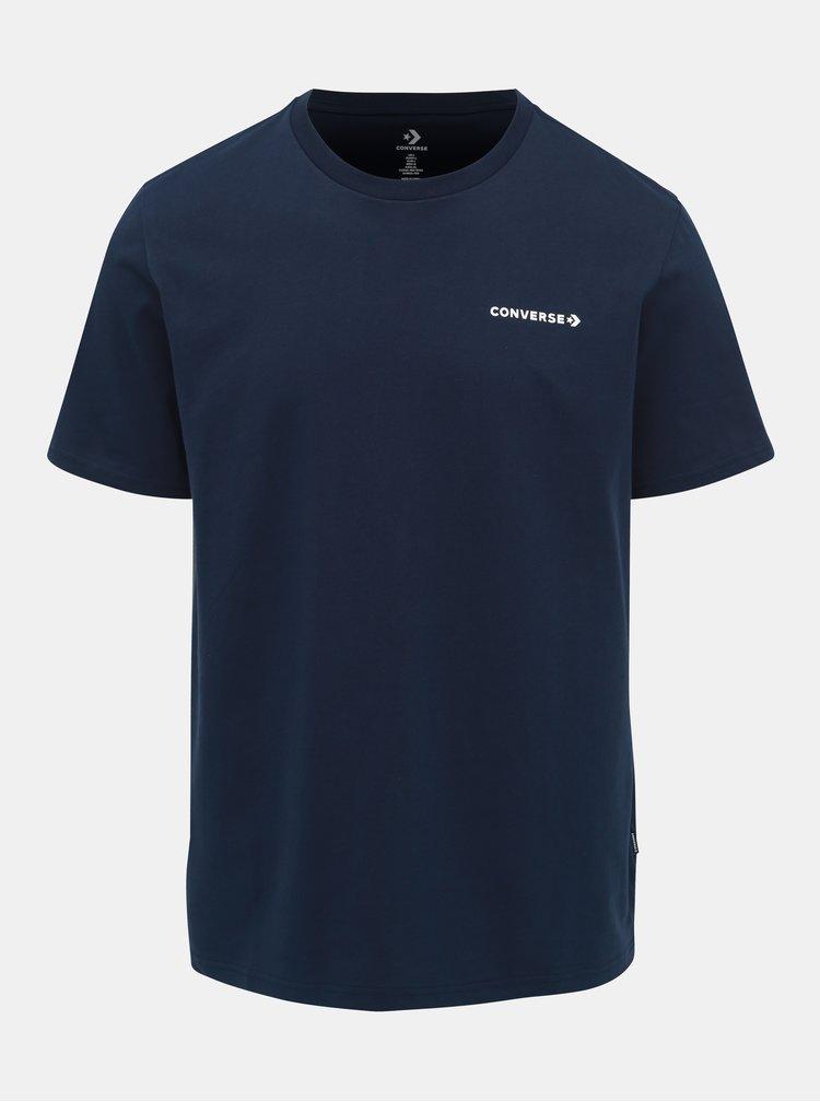 Tricou barbatesc albastru inchis Converse