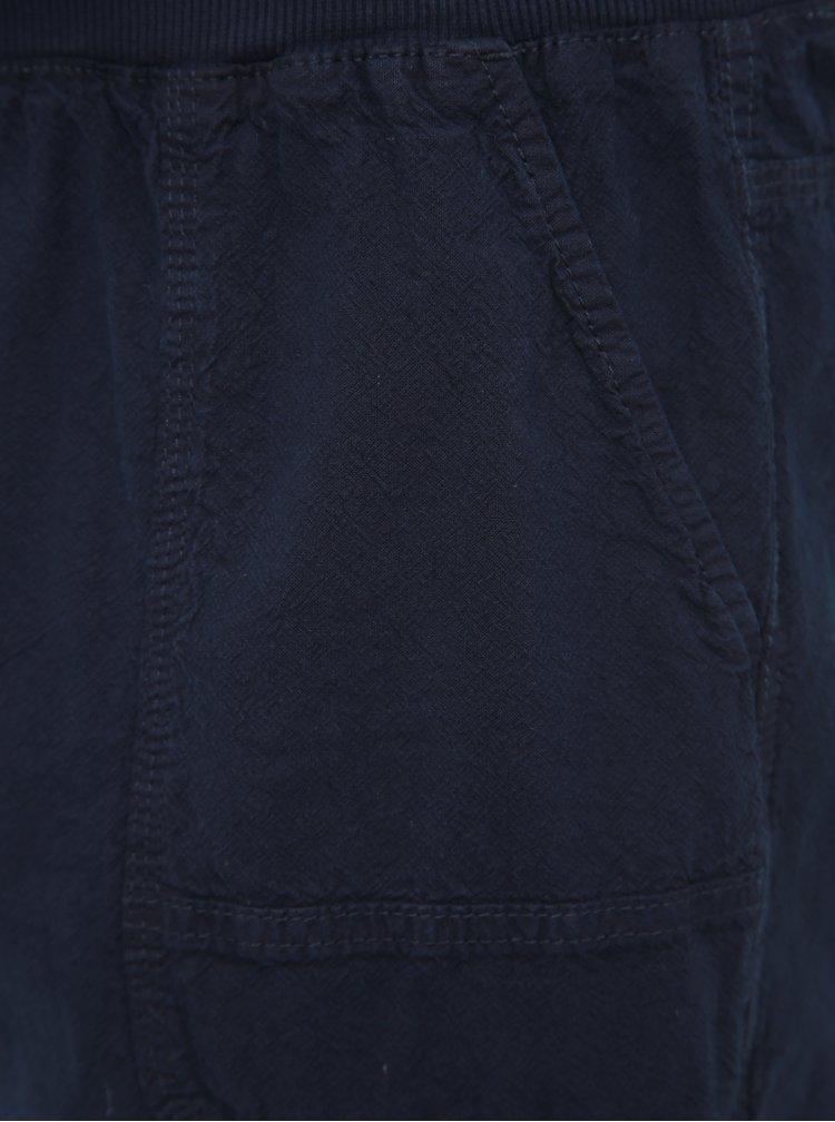 Tmavě modré basic kraťasy Zizzi
