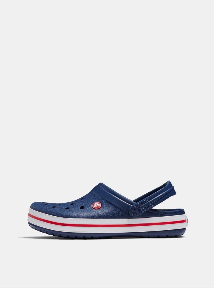Tmavě modré pánské pantofle Crocs Crocbands