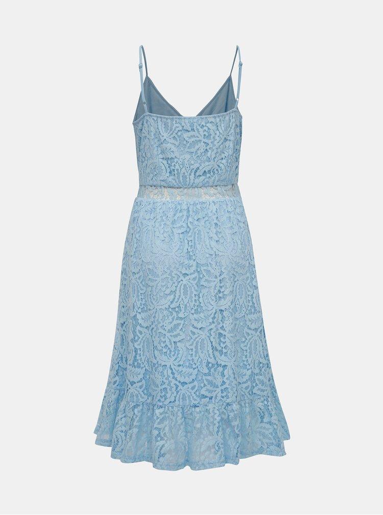 Rochie albastra din dantela VILA Lummie