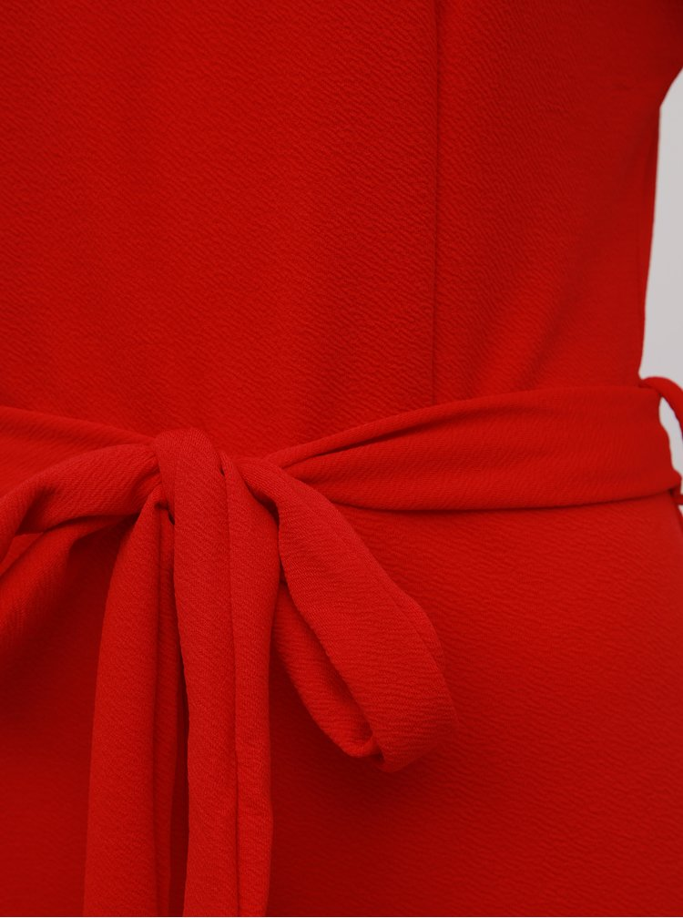 Červený overal Mela London