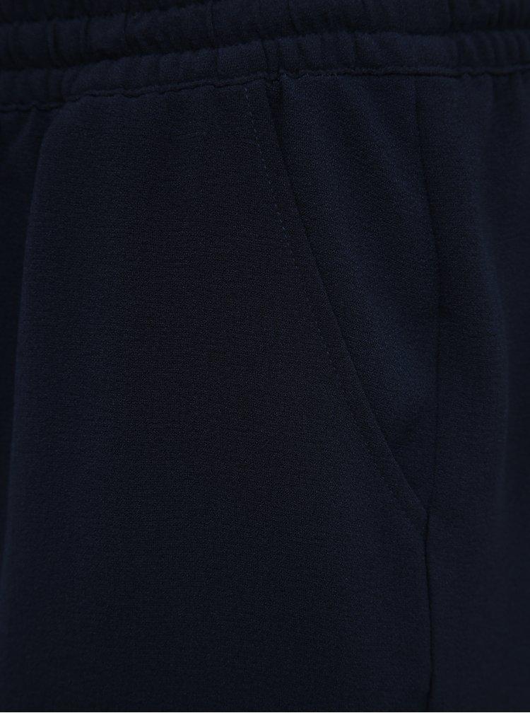 Tmavě modré basic kraťasy ONLY CARMAKOMA Turner