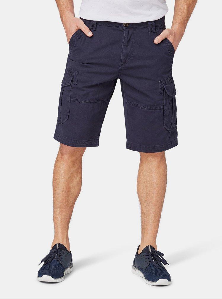 Pantaloni scurti barbatesti albastru inchis Tom Tailor