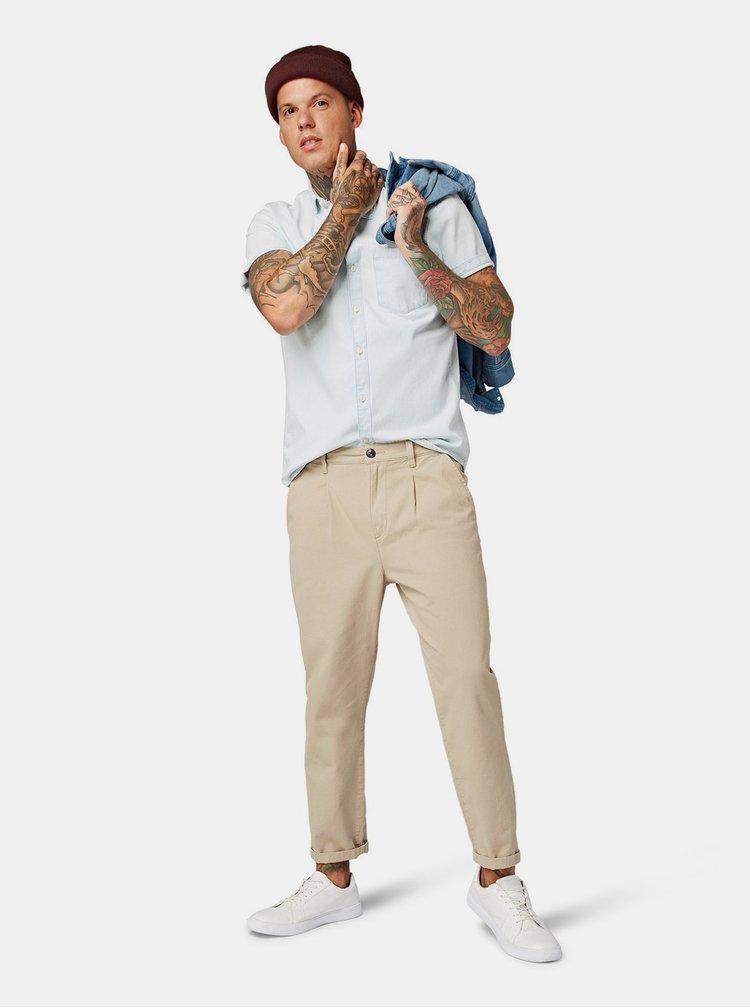 Světle modrá pánská džínová košile Tom Tailor Denim