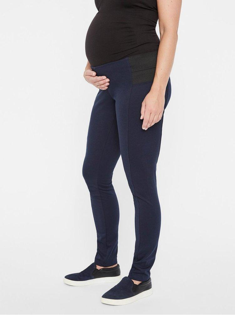 Tmavomodré tehotenské legíny Mama.licious Vilja