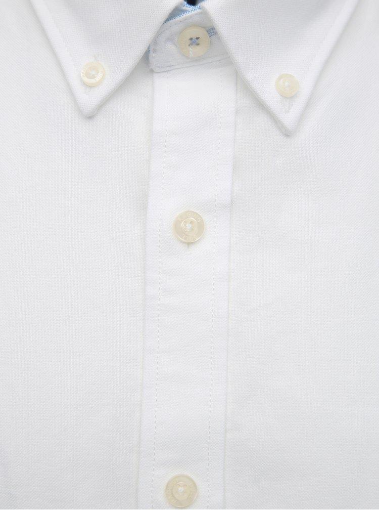 Camasi casual pentru barbati Raging Bull - alb