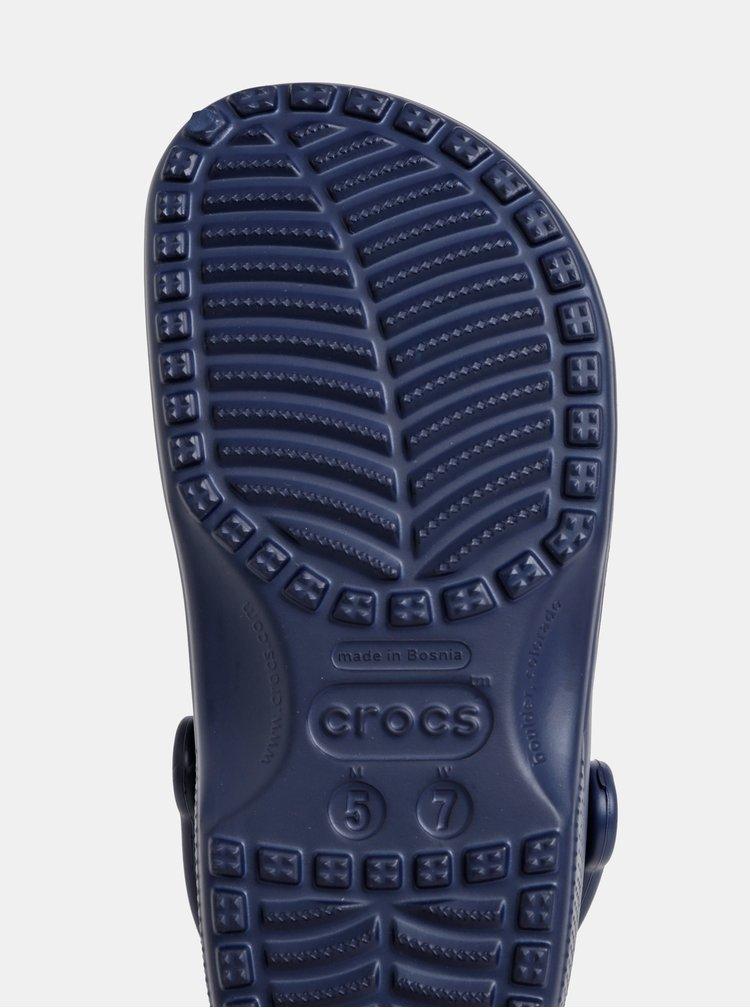 Tmavě modré pantofle Crocs Classic Clog