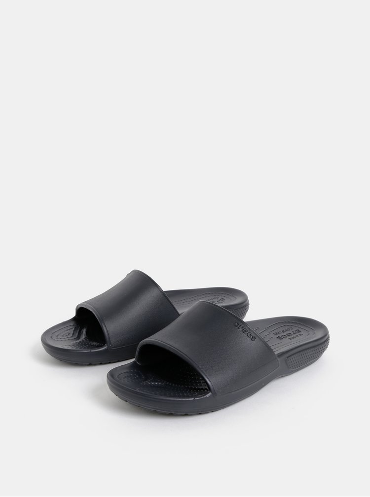 Papuci negri Crocs Classic II