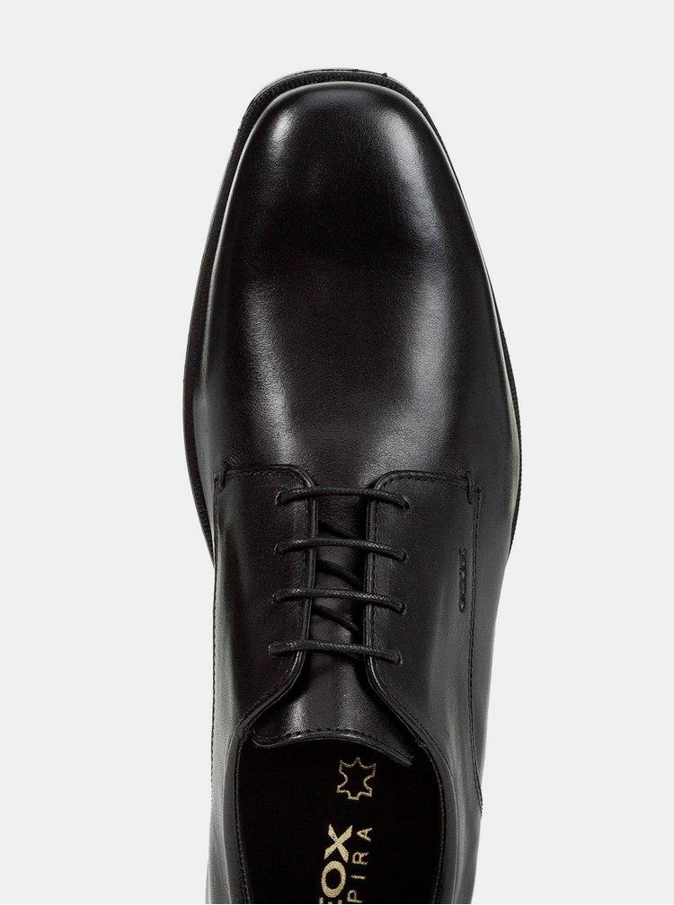 Pantofi barbatesti negri din piele Geox Callgary