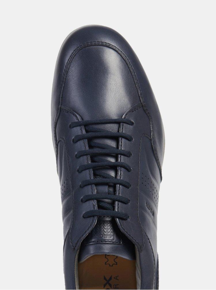 Pantofi sport barbatesti albastru inchis din piele Geox Timothy