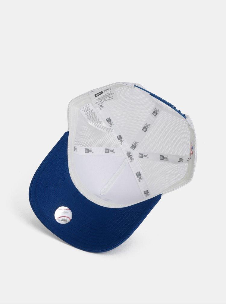 Bílo-modrá kšiltovka New Era Adjustable