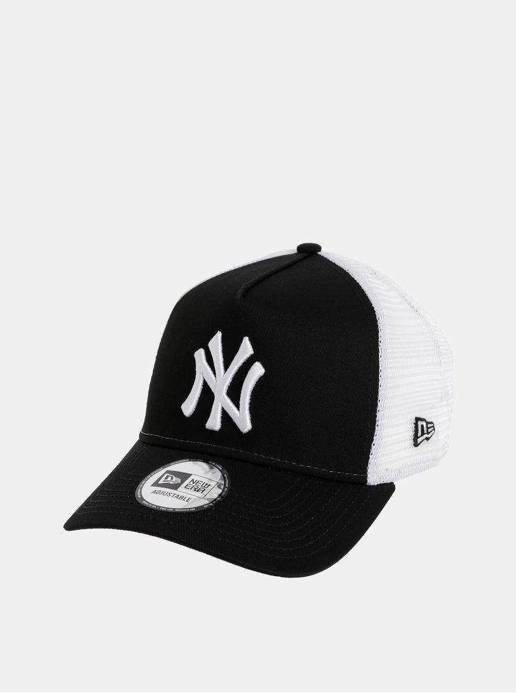 Bílo-černá kšiltovka New Era Adjustable