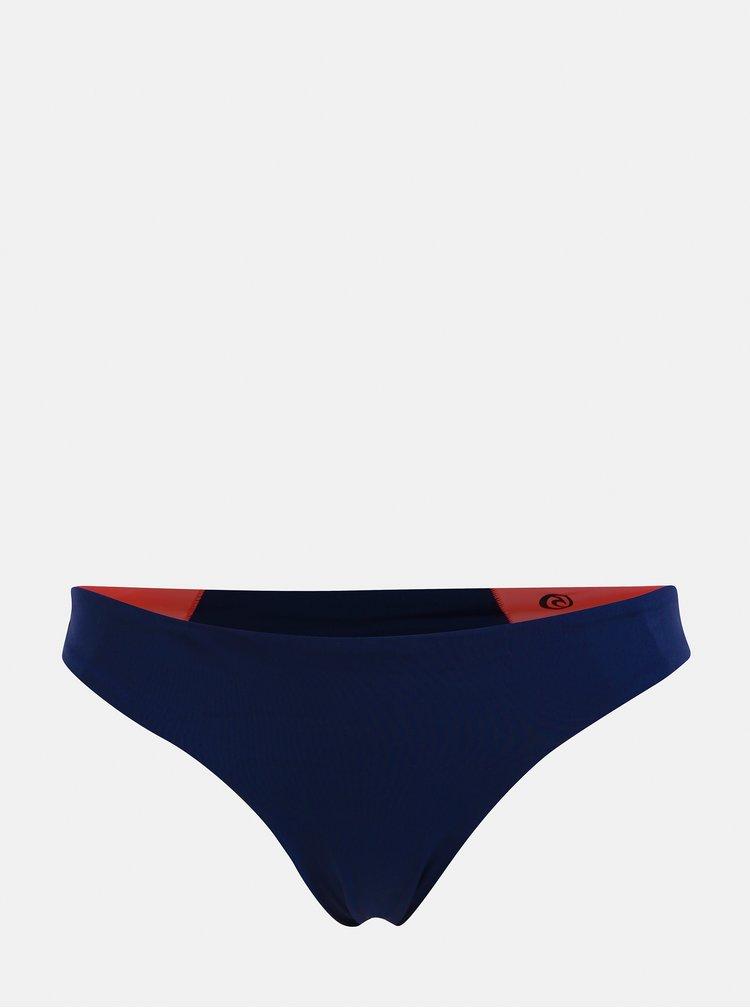 Ružovo–modrý dámsky obojstranný spodný diel plaviek Rip Curl