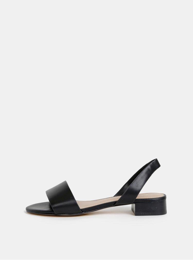 Sandale negre de dama ALDO Candice