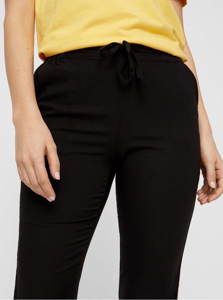 Čierne nohavice VERO MODA Simply Easy