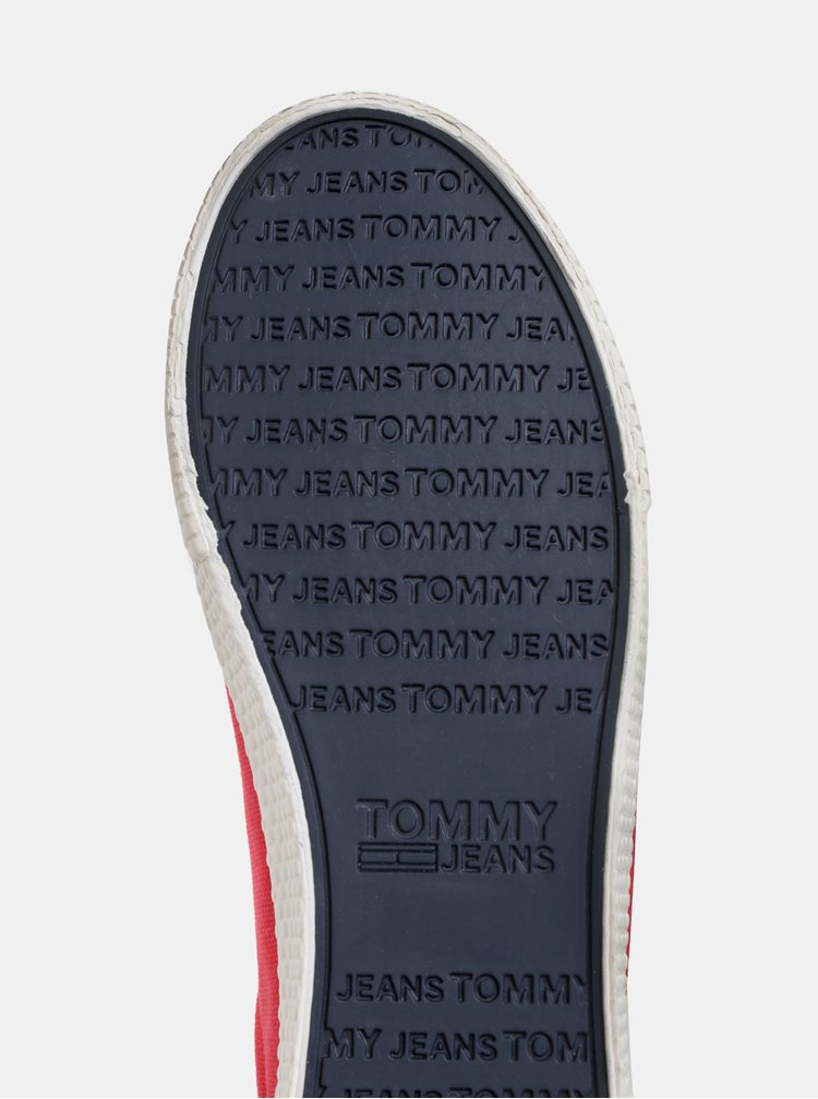 Červené dámské tenisky Tommy Hilfiger
