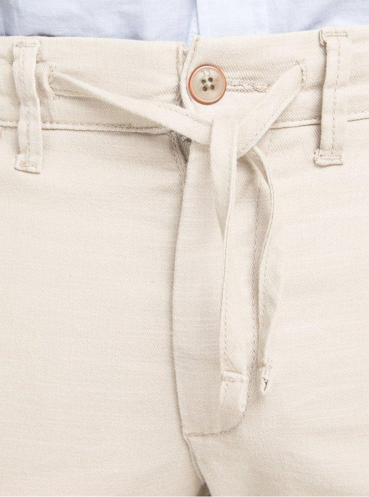 Pantaloni bej din in Jack & Jones Marco