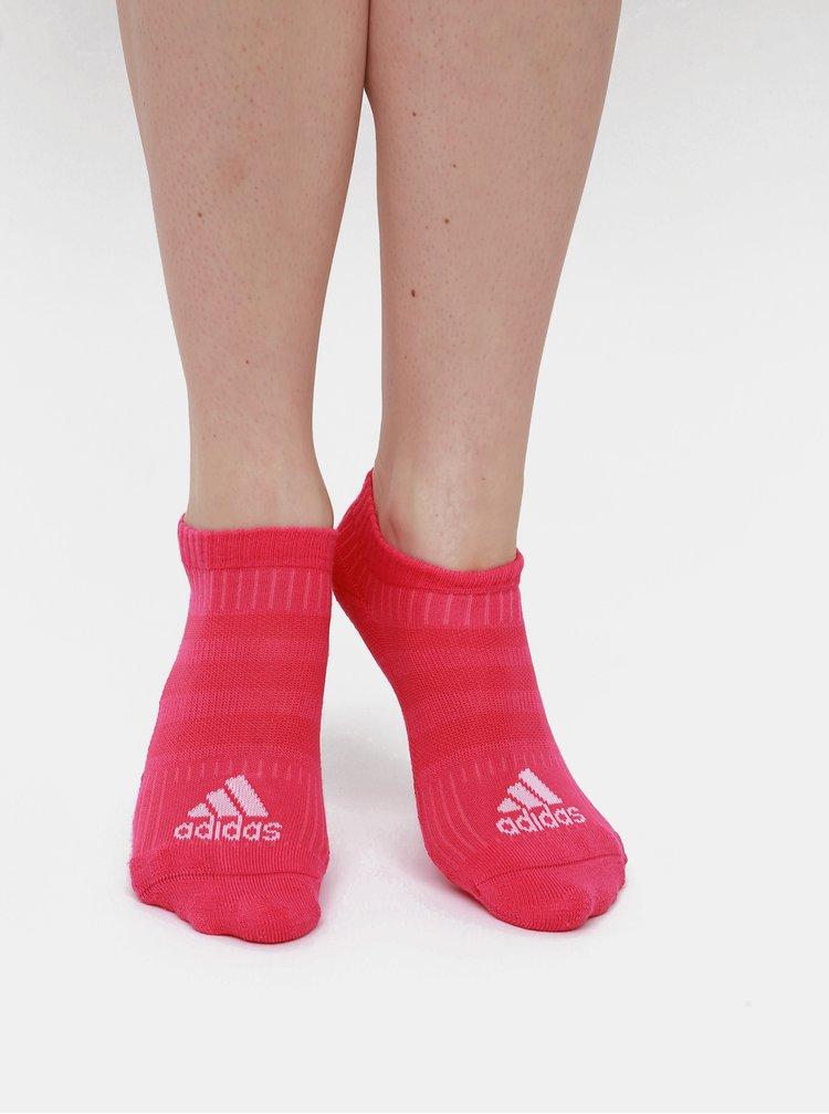 Sada šiestich párov dámskych farebných nízkych ponožiek adidas Performance